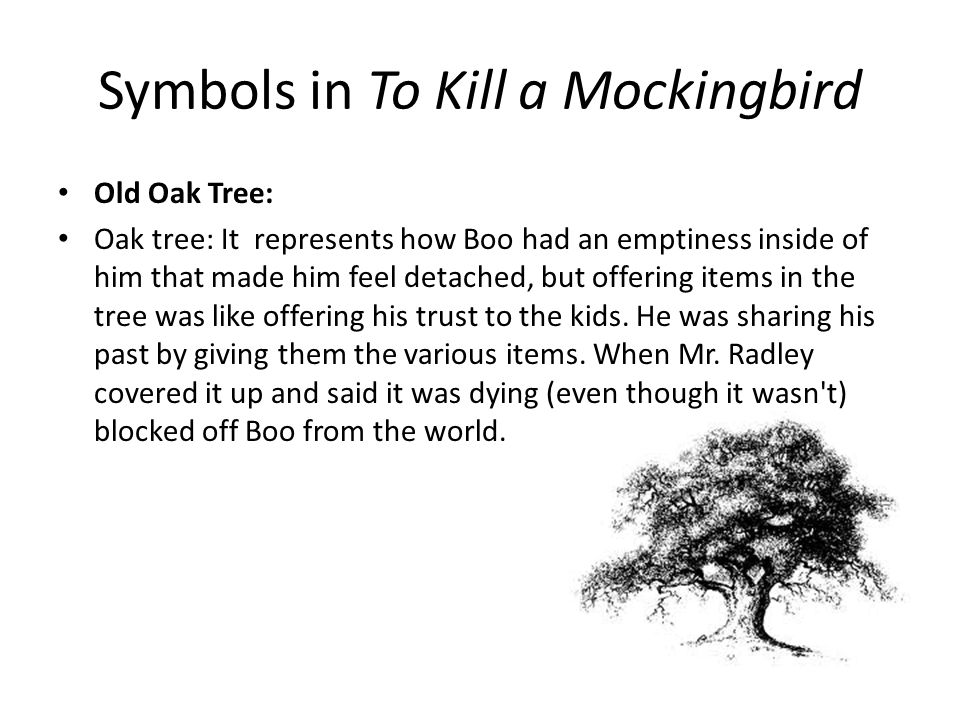 Symbols in To Kill a Mockingbird