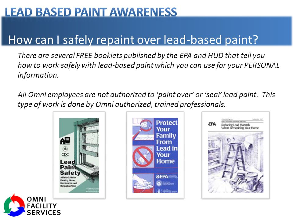 what is lead based paint ppt download