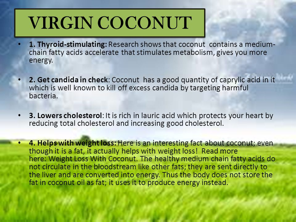 VIRGIN COCONUT
