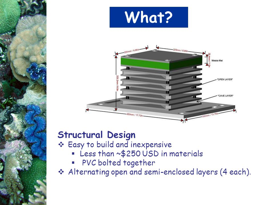 What Structural Design Easy to build and inexpensive