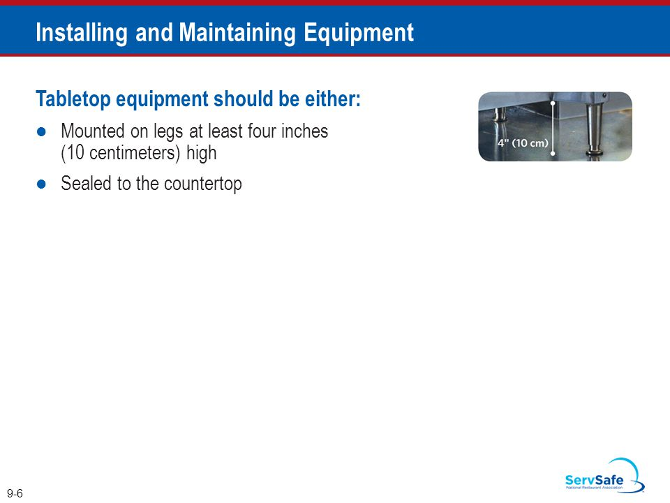Installing and Maintaining Equipment