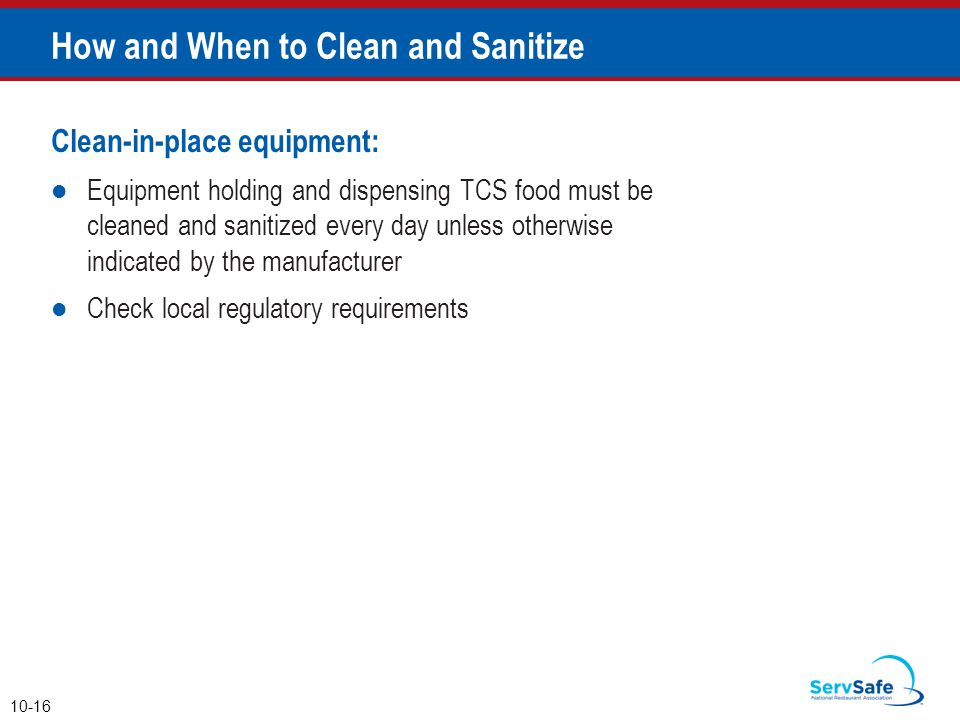 How and When to Clean and Sanitize