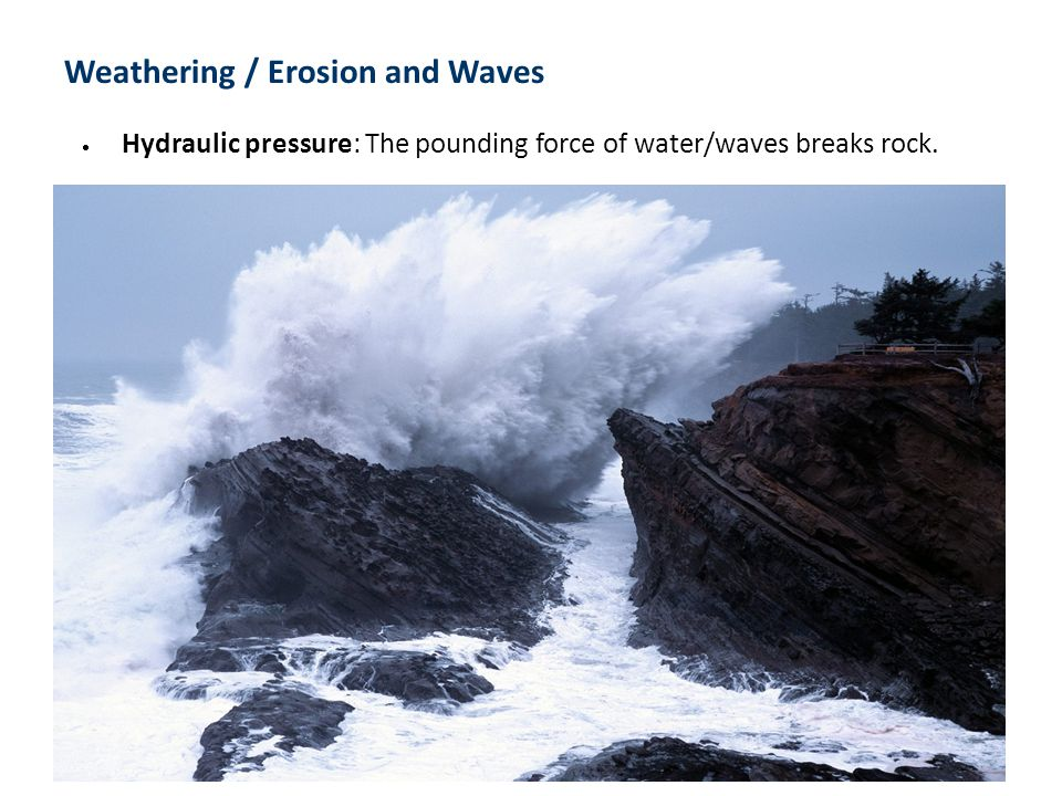 Weathering / Erosion and Waves