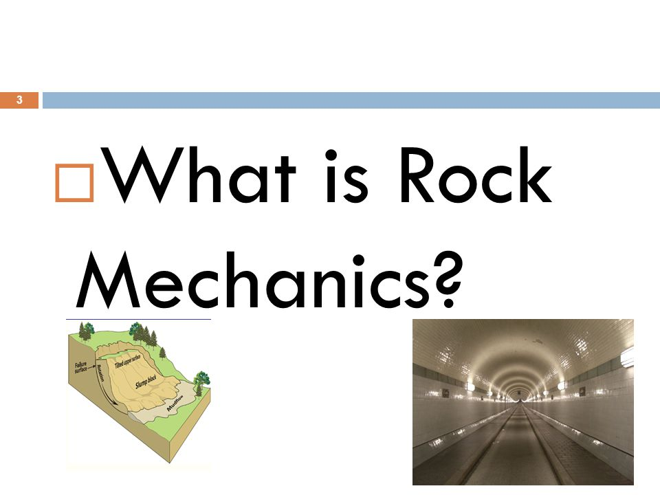 What is Rock Mechanics