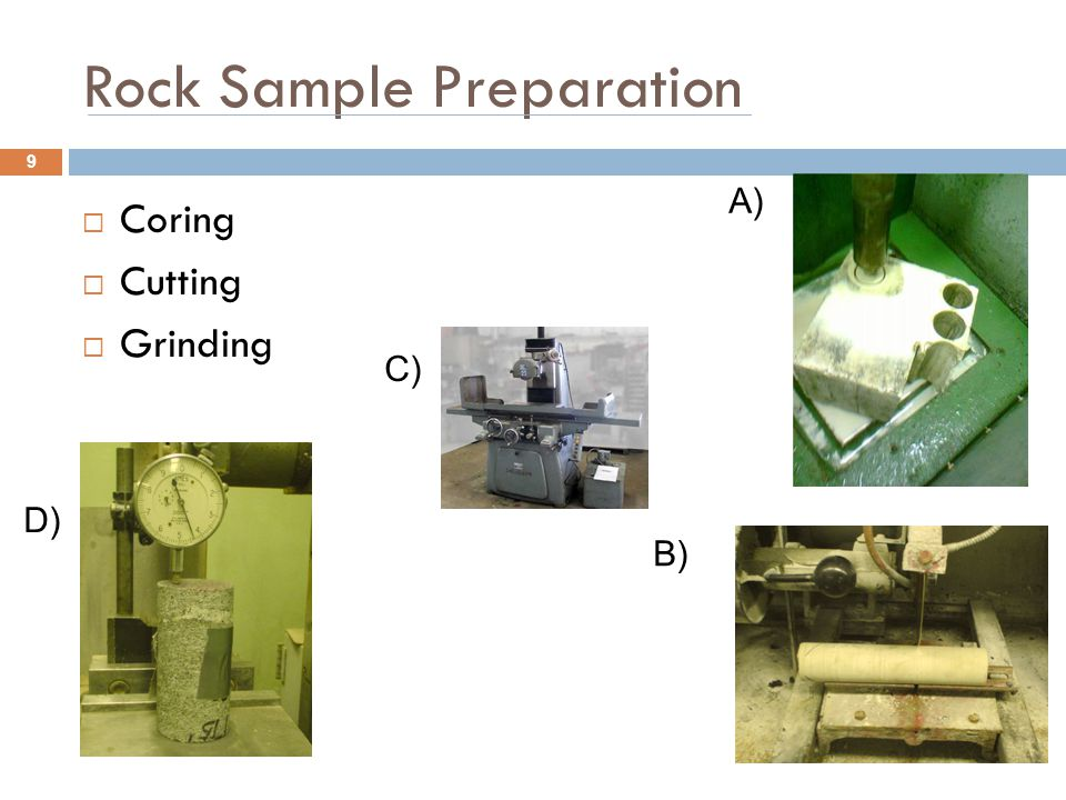 Rock Sample Preparation