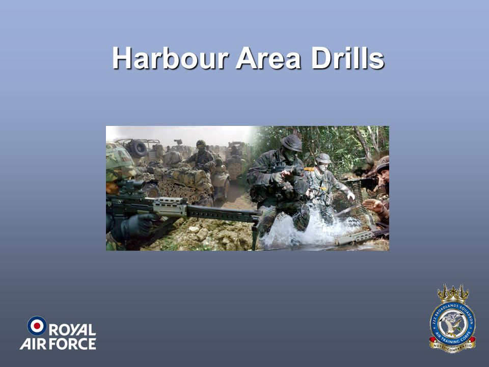 Harbour Area Drills