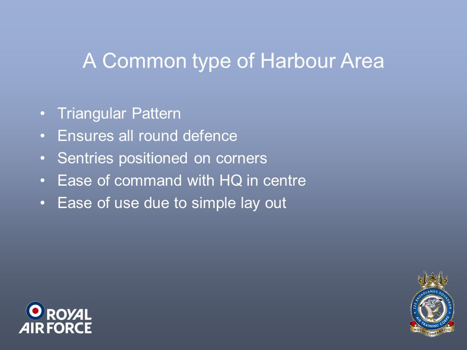 A Common type of Harbour Area