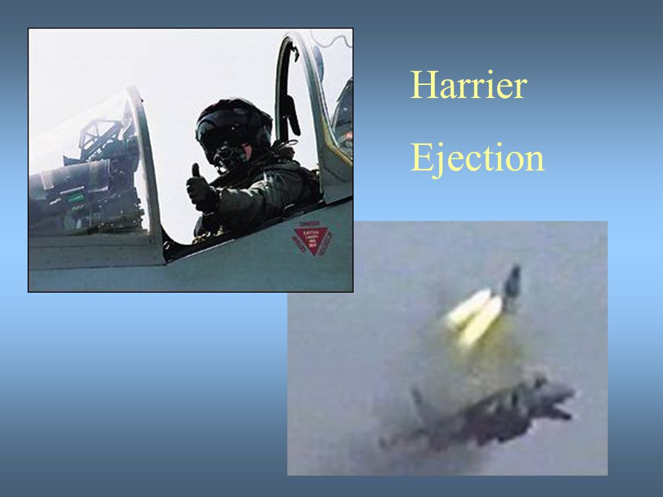 Harrier Ejection