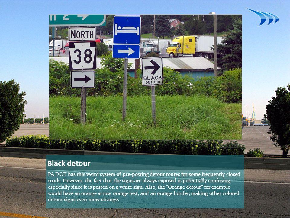 Black detour