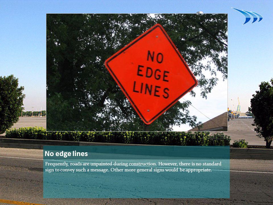 No edge lines