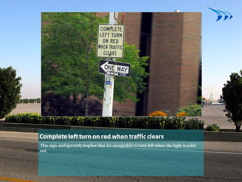 Complete left turn on red when traffic clears