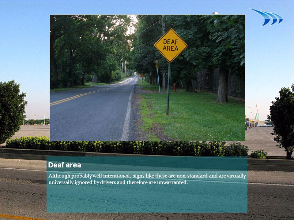 Deaf area