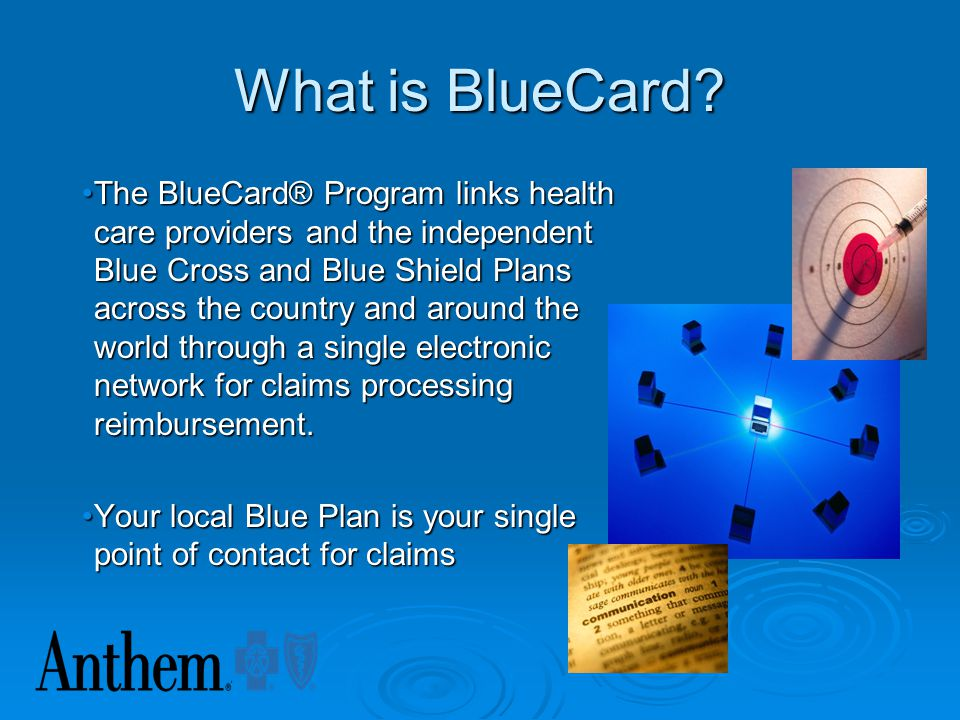 What is BlueCard
