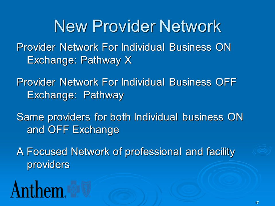 New Provider Network