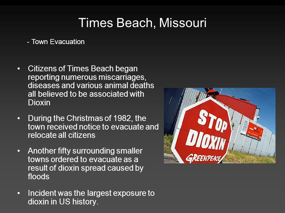 Times Beach, Missouri - Town Evacuation.