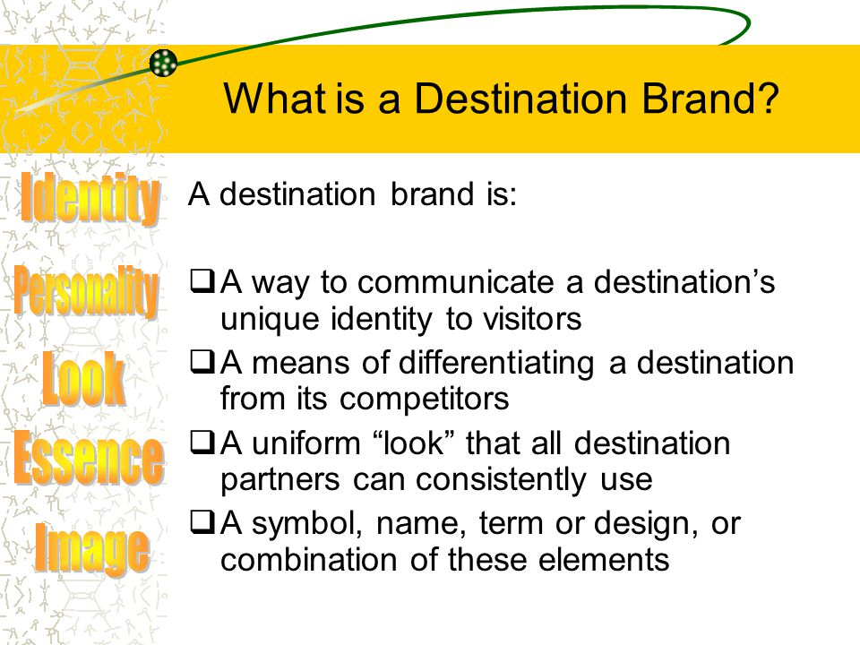 What is a Destination Brand