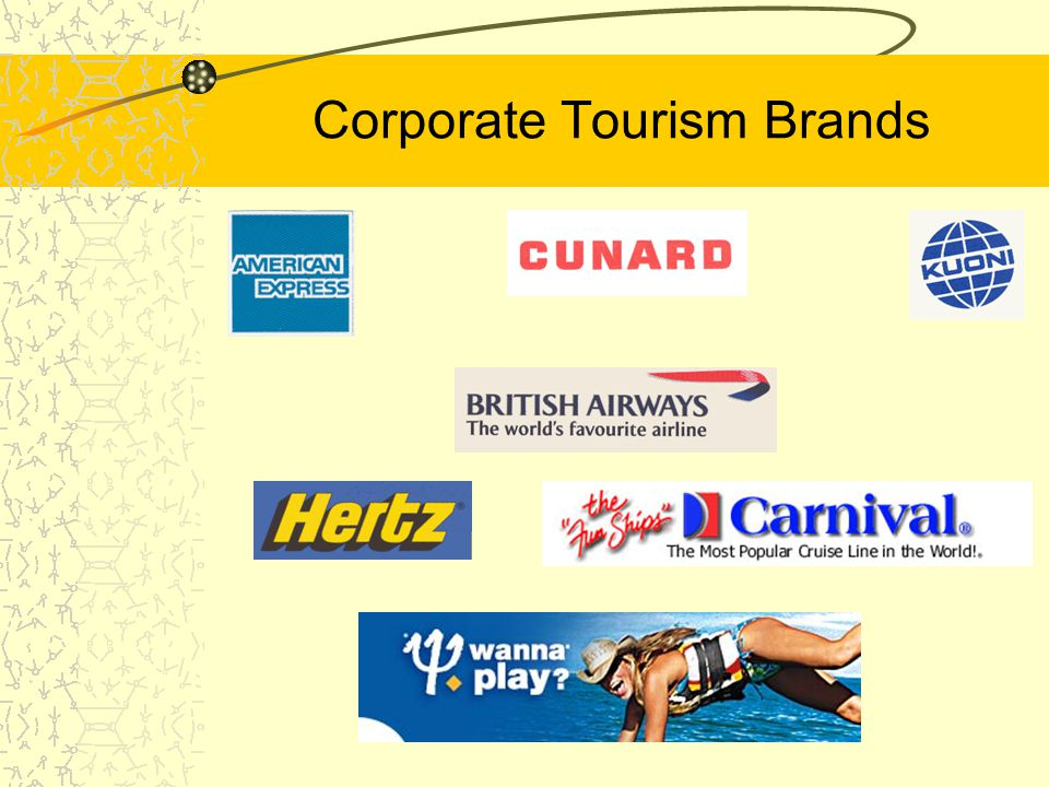 Corporate Tourism Brands