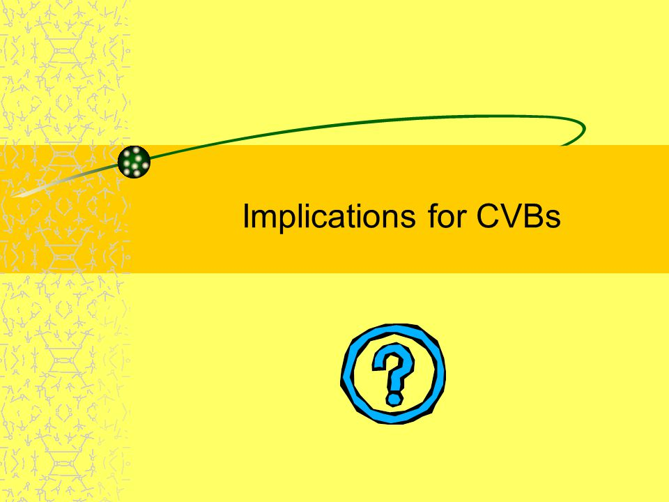 Implications for CVBs
