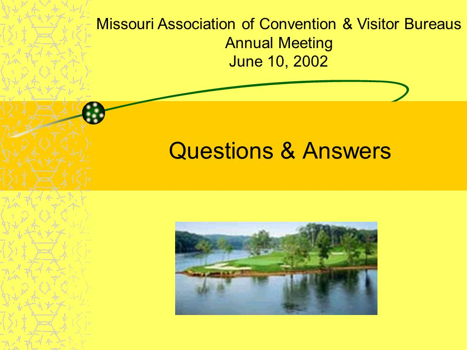 Missouri Association of Convention & Visitor Bureaus