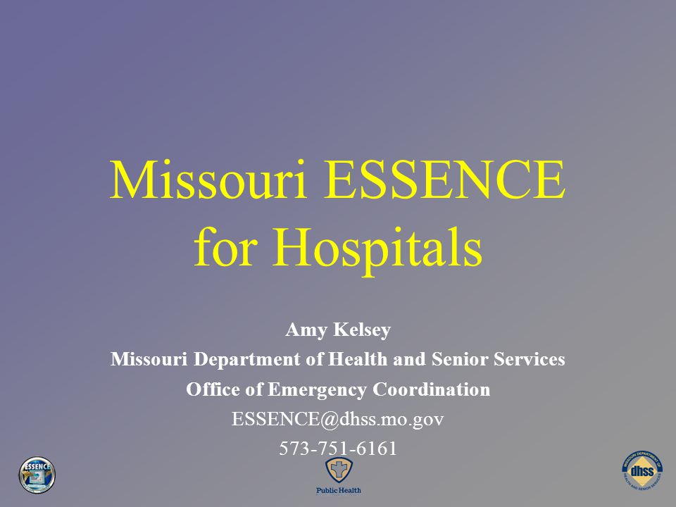 Missouri ESSENCE for Hospitals