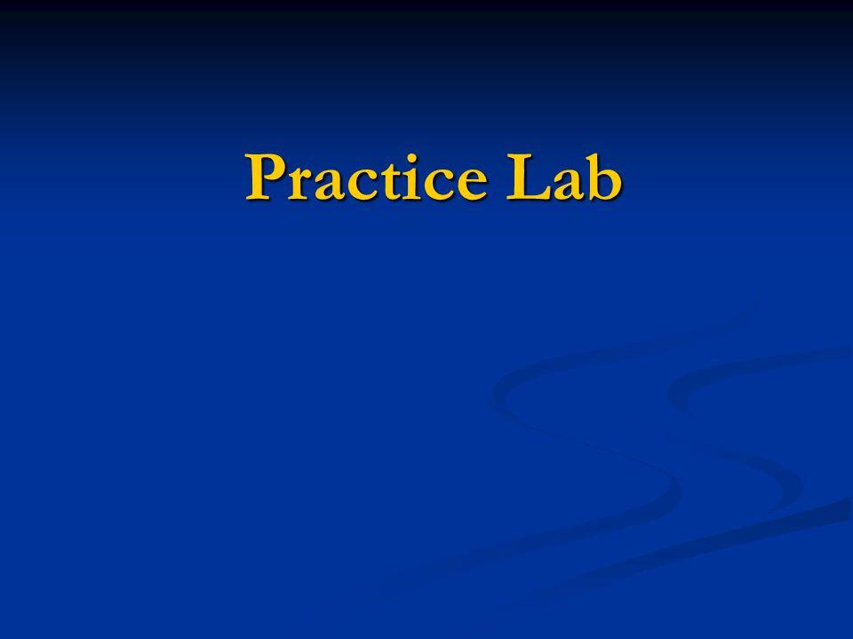 Practice Lab