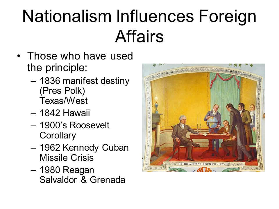 Nationalism Influences Foreign Affairs
