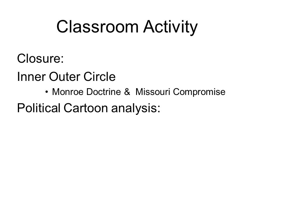 Classroom Activity Closure: Inner Outer Circle