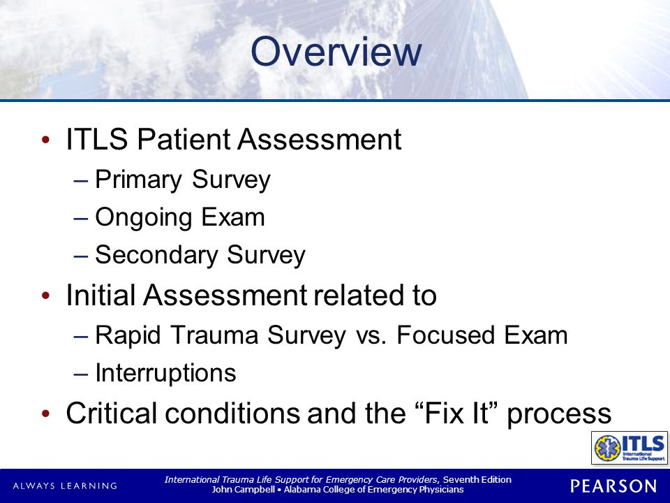 ITLS Patient Assessment