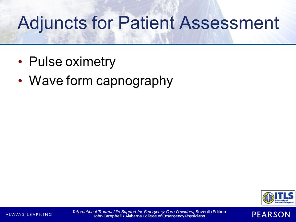 Adjuncts for Patient Assessment
