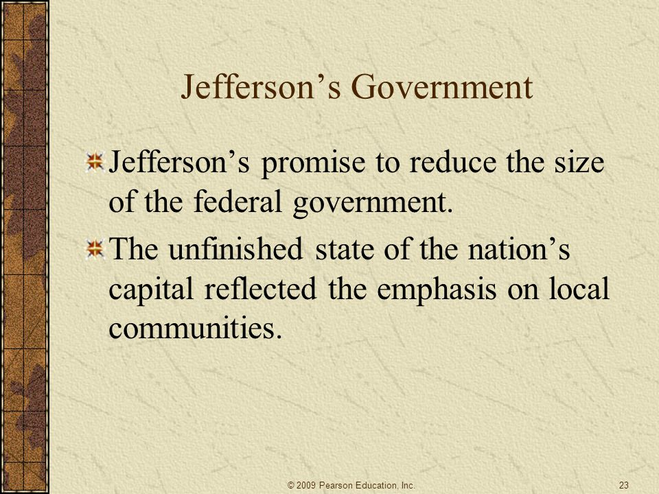 Jefferson's Government