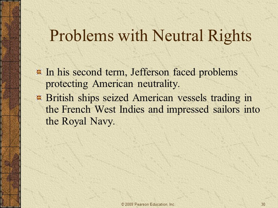 Problems with Neutral Rights