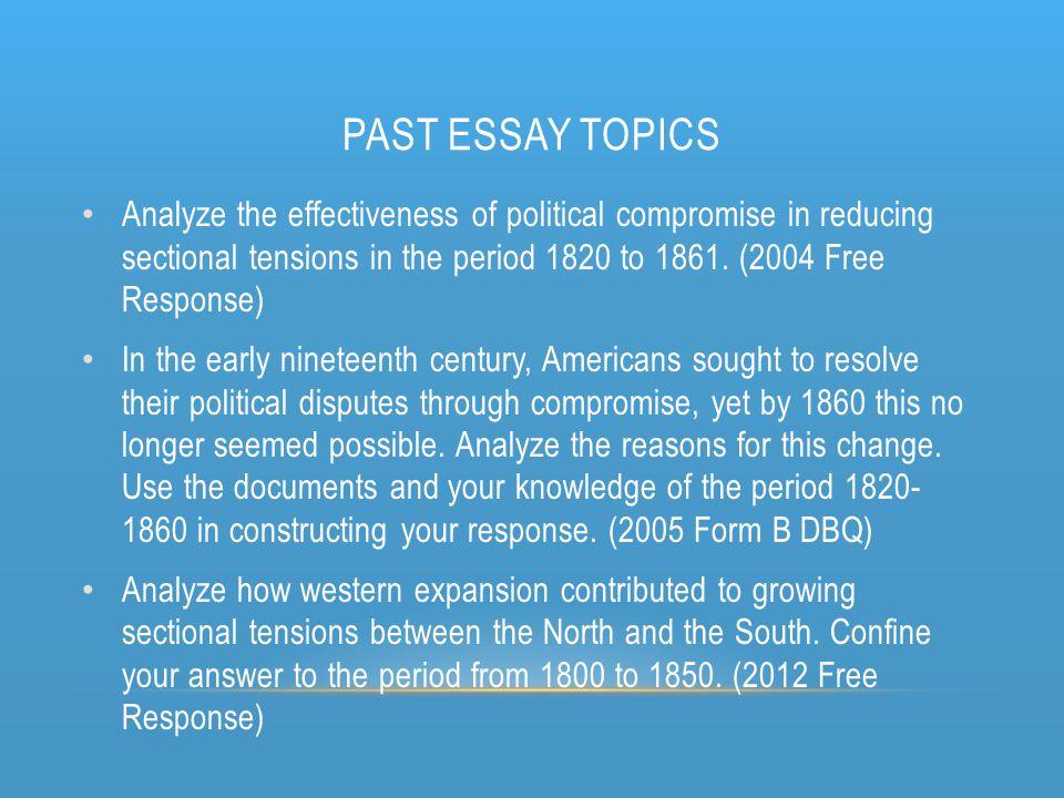 Election essay topics