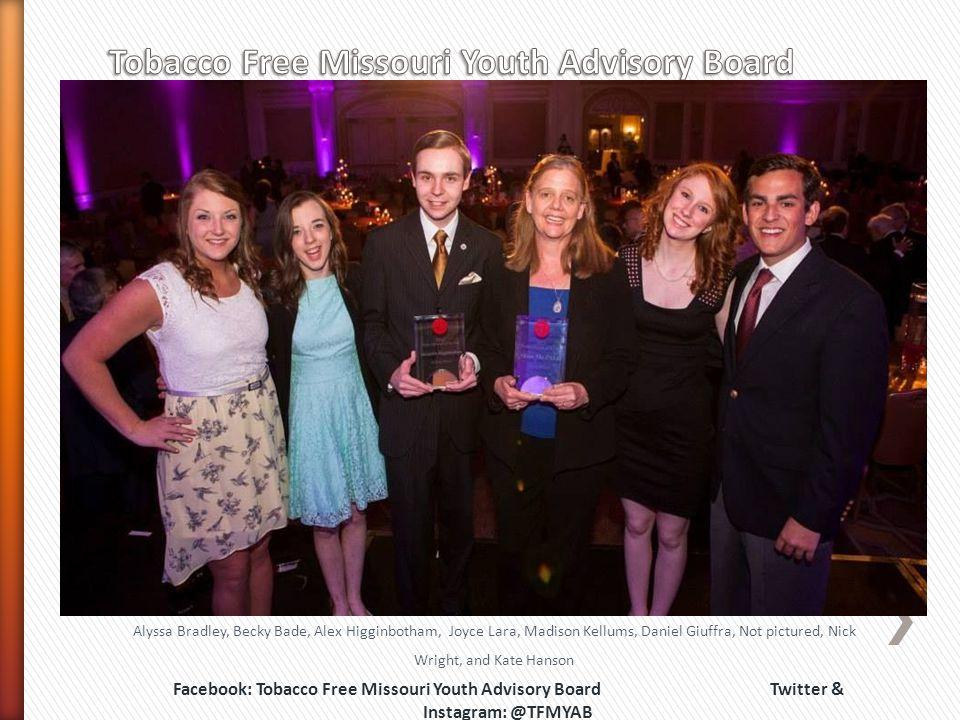 Tobacco Free Missouri Youth Advisory Board