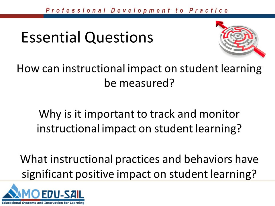 How can instructional impact on student learning be measured