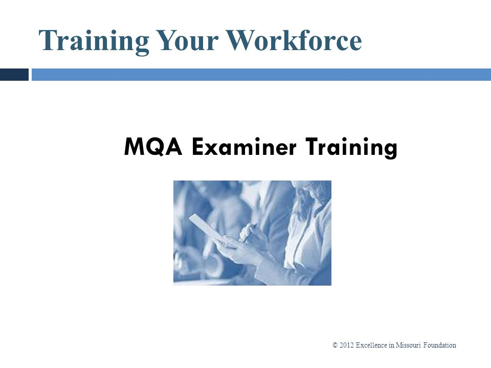 Training Your Workforce