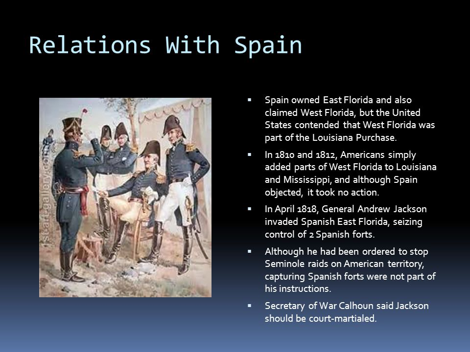 Relations With Spain