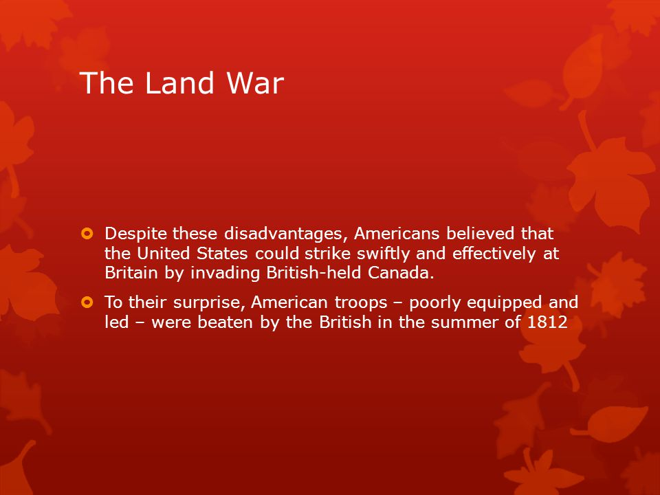 The Land War
