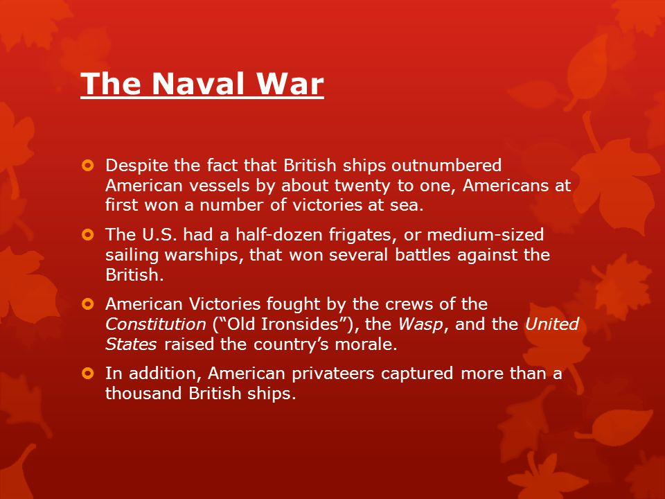 The Naval War