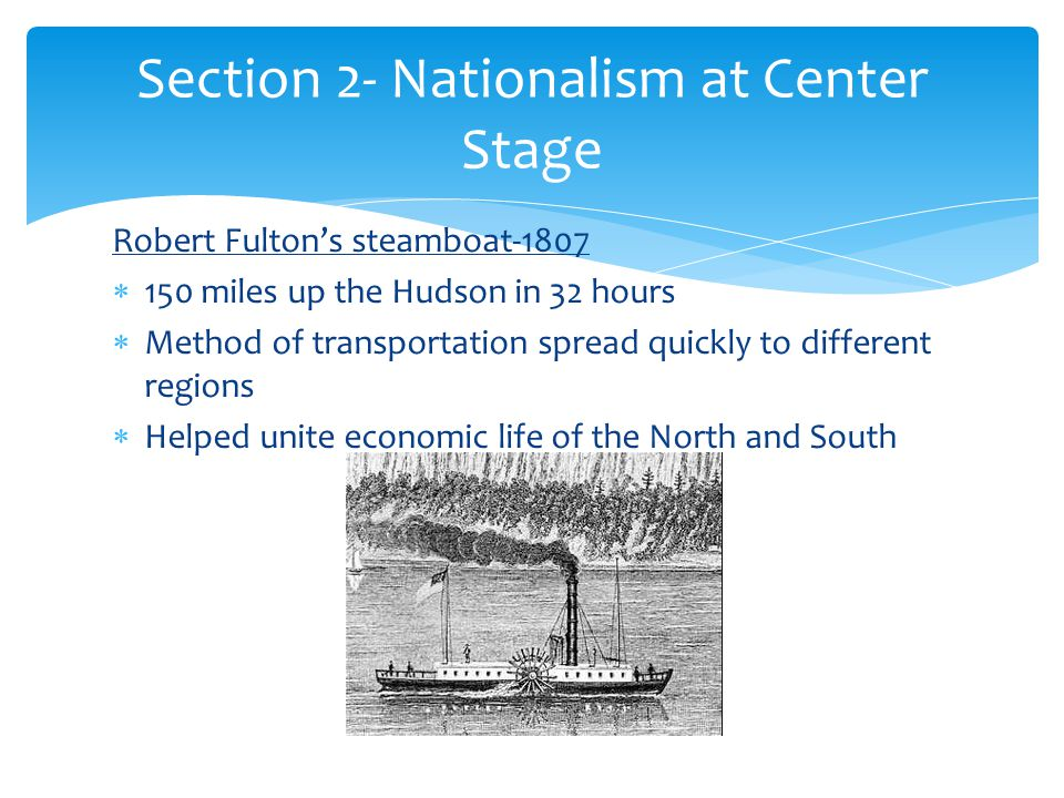 Section 2- Nationalism at Center Stage