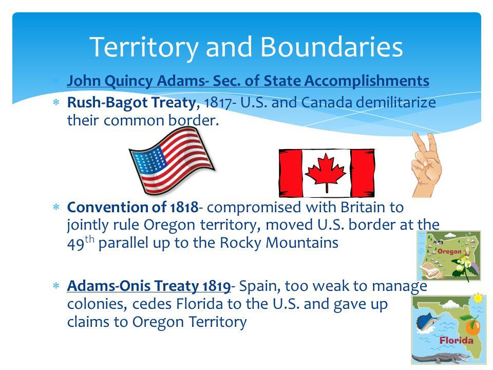 Territory and Boundaries
