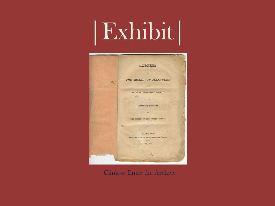 |Exhibit| \ Clink to Enter the Archive