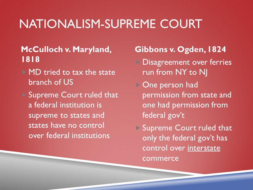 Nationalism-supreme court