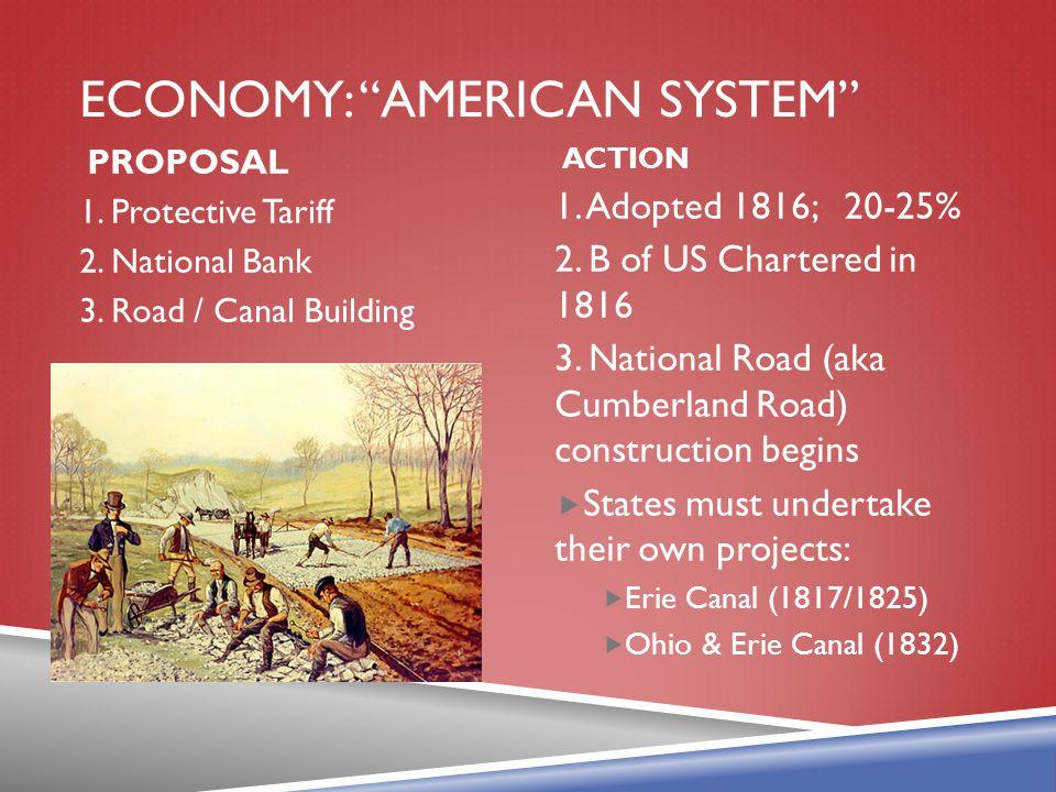 Economy: American system