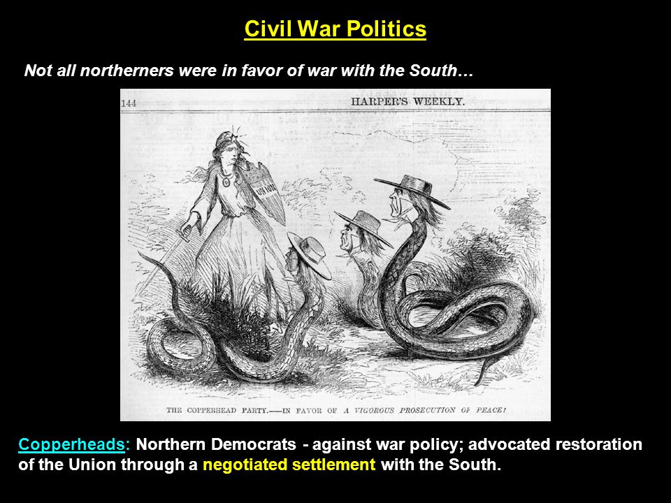 Civil War Politics Emancipation Proclamation