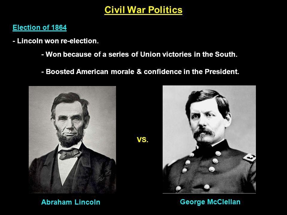 Civil War Politics Outcome of the Civil War