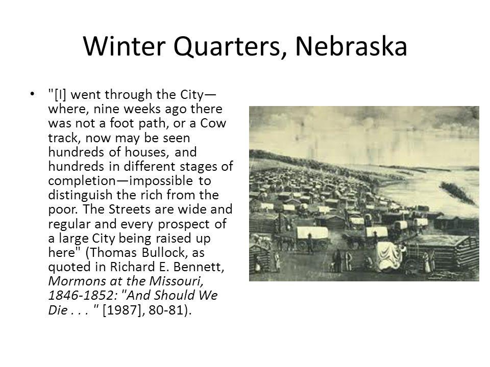 Winter Quarters, Nebraska