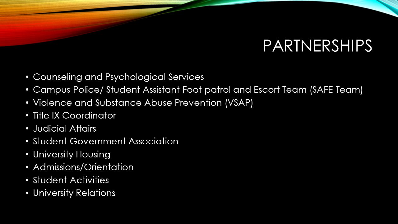 Partnerships Counseling and Psychological Services