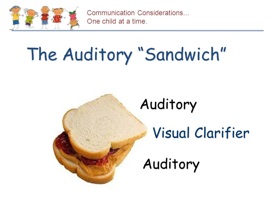 The Auditory Sandwich