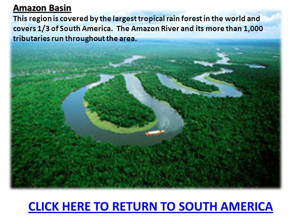 CLICK HERE TO RETURN TO SOUTH AMERICA