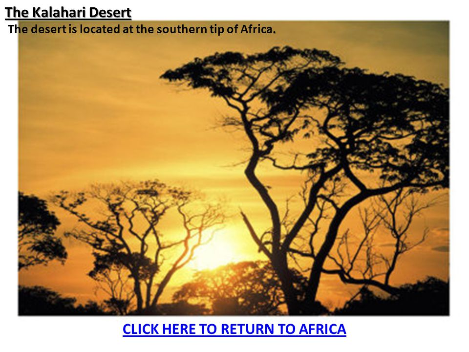 CLICK HERE TO RETURN TO AFRICA